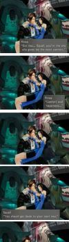 Romance lessons with Squall 2 by adamwestslapdog
