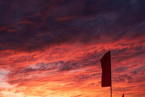 Flag and sky by therealmikeb