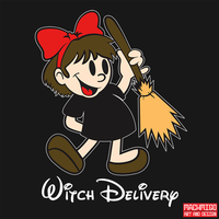 Witch Delivery by machmigo