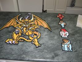 Perler Final Fantasy 1 one Chaos final boss by rushtalion
