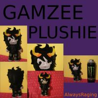 Gamzee Plushie by AlwaysRaging