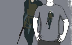 Solid Snake T-Shirt by drg