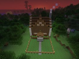 minecraft screenshot Small House1 by falcon01