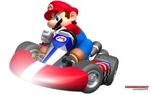 Mario Kart Wii Wallpaper by POOTERMAN