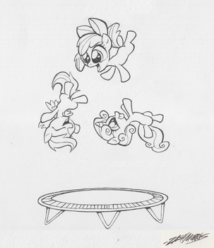 Trampoline by WillDrawForFood1