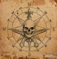 Pirate Compass symbol by dashinvaine