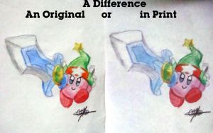 Difference-Orig or Print by murumokirby360