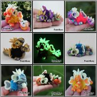 Polymer Clay Dragons Giveaway by KIMMIESCLAYKREATIONS