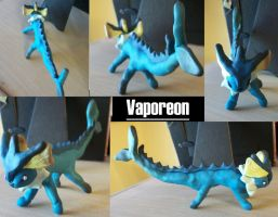 Voodoo Victimizes Vaporeon by iwantcandy2
