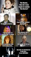 Doctor Who Mean Girls Comic by phaerietale