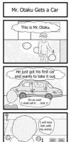 Mr. Otaku Gets a Car by Shads-Pics