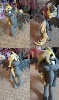 Handmade Derpy Hooves Sculpture by dreampaw