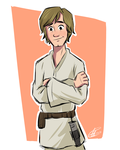 Luke Skywalker by xxiiCoko