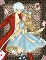 +Cris and Alan In Wonderland+ by Zafiro-Chan