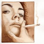 Coffee and Cigarettes by NicksPencil