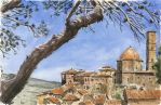 Volterra, Panorama by olivier2046
