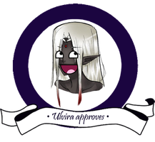 Ulvira's seal of approval by Kihiki