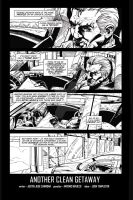 Hired Gun: FCBD page 1 by project4studios