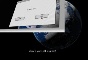 Don't get all digital by docmiller