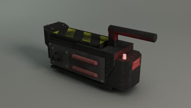Final - Ghostbusters Trap by alexvandrie