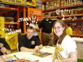 Me and Matt Kenseth by AMD17fan