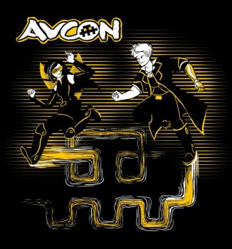 AVCon 2012 Gold Pass T-Shirt Design by Alecat