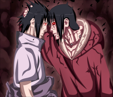 Sasuke And Itachi by iAwessome