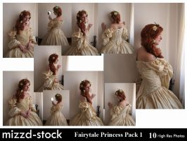 Fairytale Princess P Pack 1 by mizzd-stock