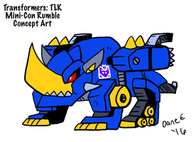 TF5: Rumble Concept by BlueIke