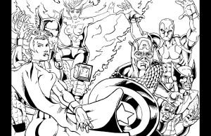 Marvel Group shot 1 by thelearningcurv