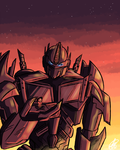 Optimus and his Little Partner by xxiiCoko