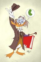 Ludwig von Drake Sketch by Themrock
