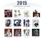 2015 Summary Of Art Meme by Maygirl96