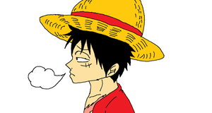 Forelorn Luffy by XfangheartX