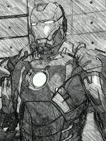 iron man mark 7 by Pokestar332