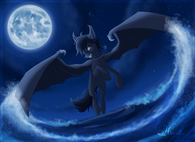 In the dark of the night by hecatehell