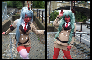 Scanty and Kneesocks VI by CookieKabuki