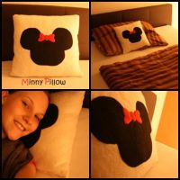 Minny Pillow by MoeJunior