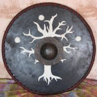 My Middle-Earth shield by Mithgariel