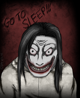 Jeff The Killer colored by Lady-Elizriel