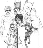 batman and stuff by solusn