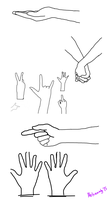 Hands by Alcheminty