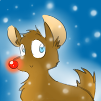 rudolph the red nosed reindeer by raygirl12