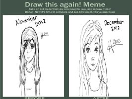 Draw this again meme by MissFrazzle