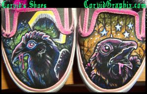 Corvid's Shoes by black-brd