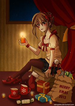 Merry Xmas 2013 by retropiink