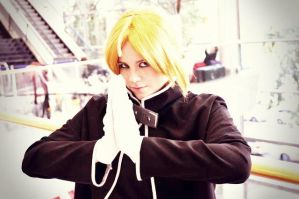 Edward Elric by NinachanxD