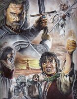 Lord of The Rings by MuhammedFeyyaz