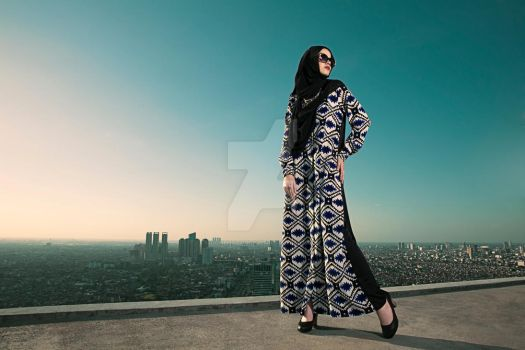 Abaya In Town by donphotograph