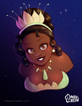 Princess Tiana Revisited by daisyein